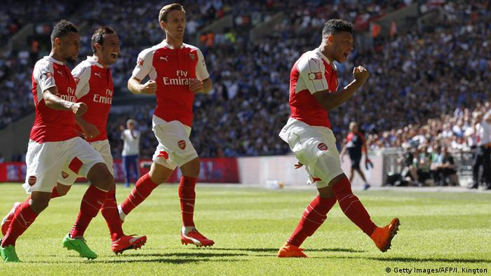 Fußball England Premier League FA Community Shield Arsenal - Chelsea (Getty Images/AFP/I. Kington)