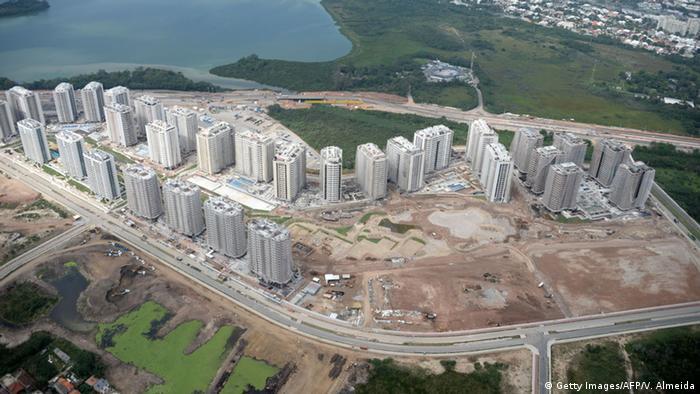 Brasilien Baustelle Olympisches Dorf Rio de Janeiro