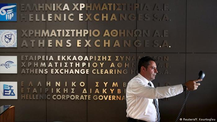 Griechenland Wiedereröffnung Börse Athen (Reuters/Y. Kourtoglou)
