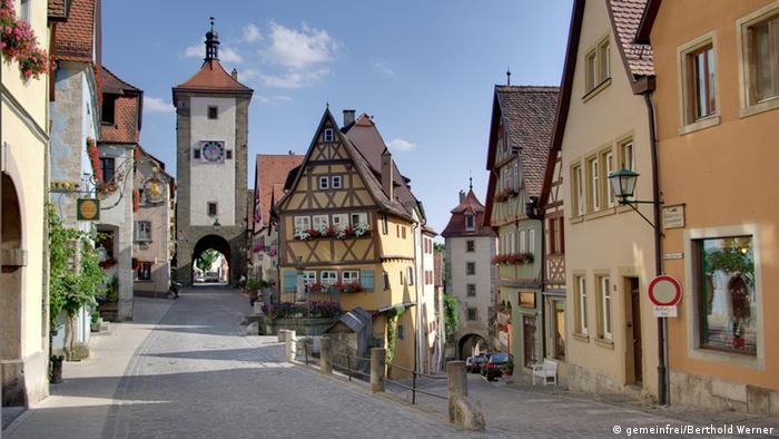 Die Altstadt von Rothenburg ob der Tauber Foto:gemeinfrei/Berthold Werner