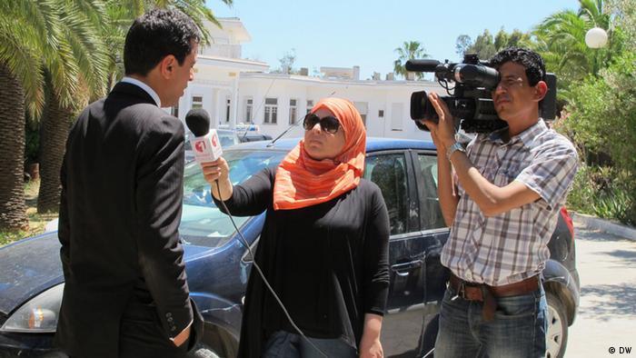 Media training in Tunesia by DW Akademie