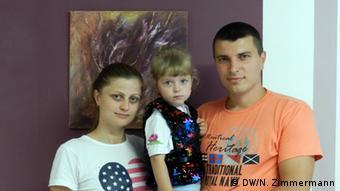 Mecklenburg-Vorpommern Ukrainische Flüchtlingsfamilie