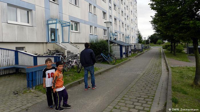 Общежитие для беженцев в Вольгасте