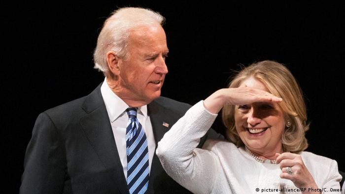 Гілларі Клінтон підтримала Джо Байдена на майбутніх виборах президента США