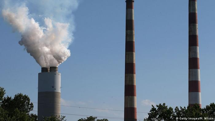 Coal power plant in Maryland, US (Photo: Mark Wilson/Getty Images)