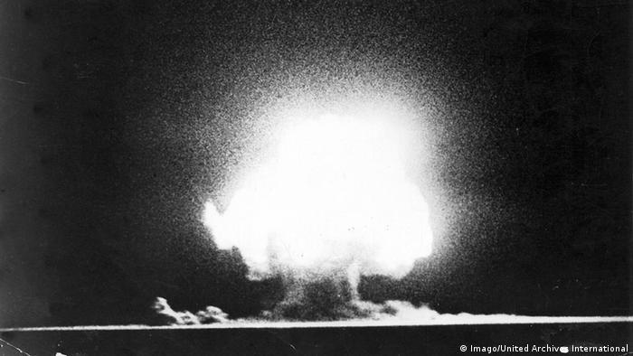 USA Atombombentest Los Alamos