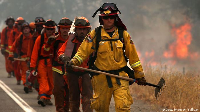 USA Waldbrände in Kalifornien Bildergalerie