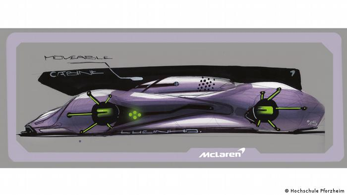 Модель для McLaren