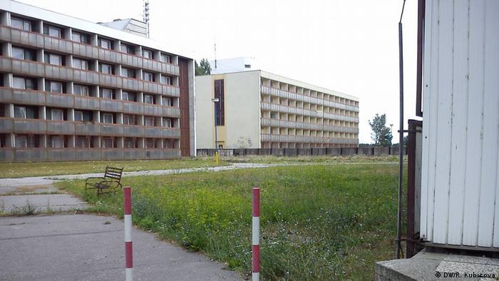 Universitätsgebäude in Gabcikovo - Foto: DW/R. Kubicova