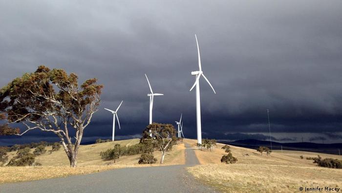 Woodlawn and Capital Hill wind farm in Bungendore, Australia