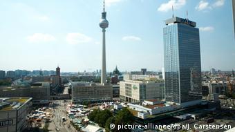 Deutschland Fernsehturm in Berlin