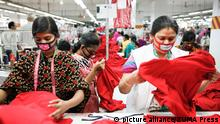 Bangladesch Textilfabrik (picture alliance/ZUMA Press)