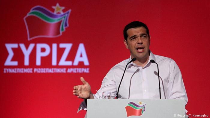Griechenland Syriza Zentralkomitee Tsipras Rede Neuwahlen