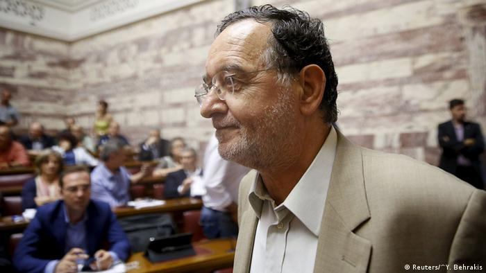 Der griechische Politiker Panagiotis Lafazanis (Foto: Reuters)