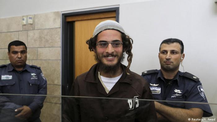 Israel Meir Ettinger Festnahme