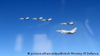 NATO Luftpatrouille Baltikum Royal Air Force Abfang russische MiG-31