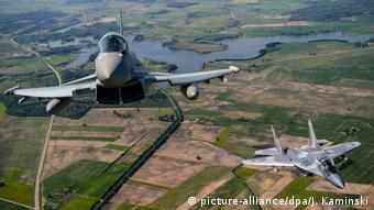 NATO Luftpatrouille Baltikum Baltic Air Policing Mission