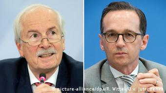 Harald Range (links) und Heiko Maas. (Foto: Ronald Wittek/Bernd von Jutrczenka/dpa)