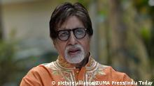 Indien Schauspieler Amitabh Bachchan