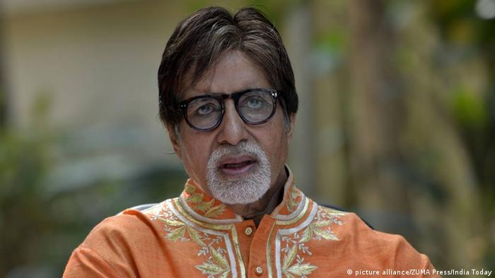 Indien Schauspieler Amitabh Bachchan (picture alliance/ZUMA Press/India Today)
