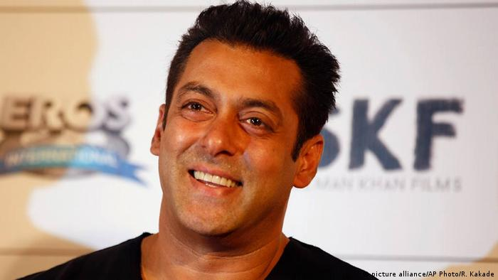 Indien Schauspieler Salman Khan (picture alliance/AP Photo/R. Kakade)