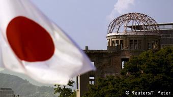 Japan gedenkt der Opfer der Atombombenexplosionen in Hiroshima und Nagasaki 2015. (Foto: AP)