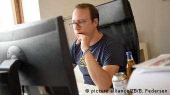 Internetaktivisten des Blogs Netzpolitik.org