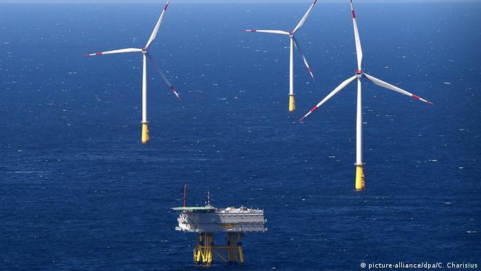 Der Windpark DanTysk