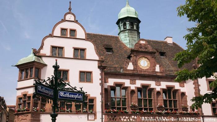 Deutschland Freiburg im Breisgau Altes Rathaus