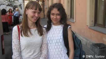 Людмила Савчук (праворуч) зі своєю адвокаткою Дарією Сухіх