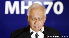 Malaysia PK Trümmerteil MH370 Najib Razak