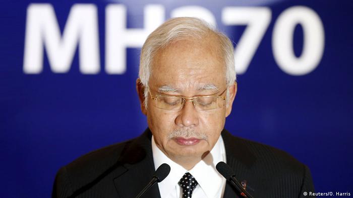 Najib Razak confirmou resultado em pronunciamento na televisão