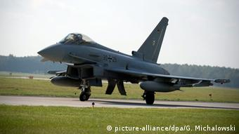 German Eurofighter in Ämari Air Base