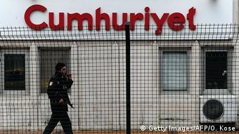 Headquarters of Cumhuriyet daily newspaper
