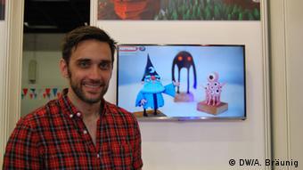 Gamescom 2015 in Cologne, Copyright: DW/Ananda Bräunig