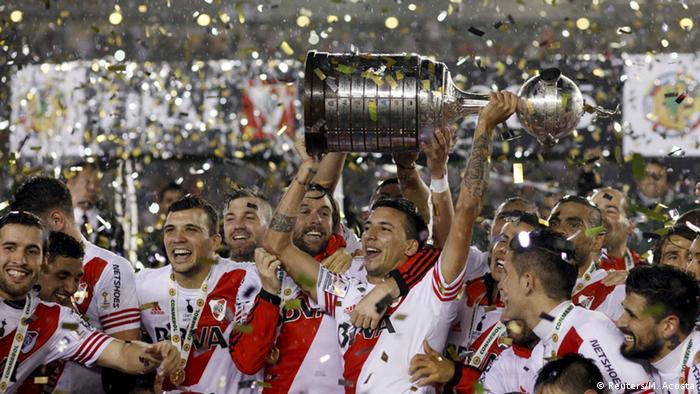 Argentinien Copa Libertadores River Plate - Mexico Tigres