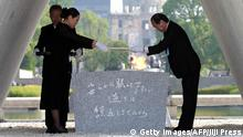 Japan Gedenkzeremonie 70. Jahrestag Atombombenabwurf Hiroshima
