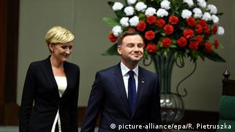 Andrzej Duda and wife