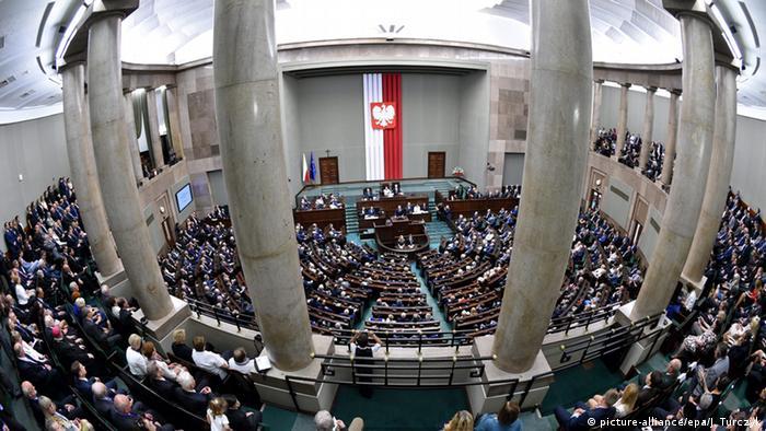 Polen Vereidigung des neuen Präsidenten Andrzej Duda