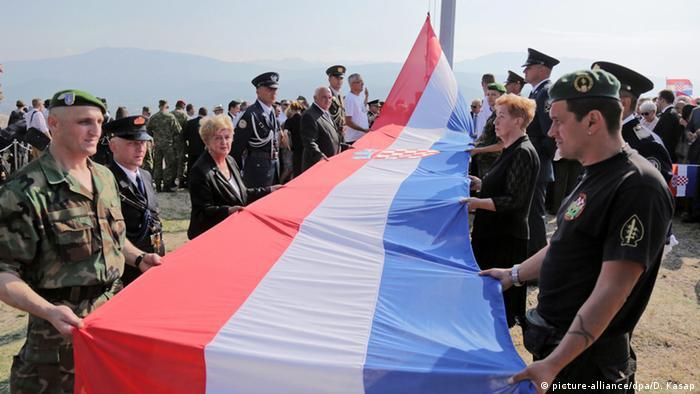 Erinnerung an Operation Sturm in Kroatien (Foto: EPA/DANIEL KASAP)