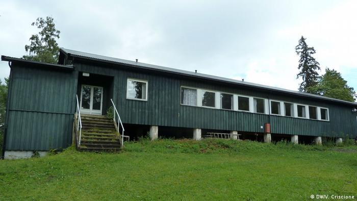 Kafetaria di kamp musim panas di Utoya, Norwegia