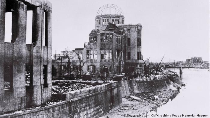 Хиросима спустя две недели после ядерной бомбардировки