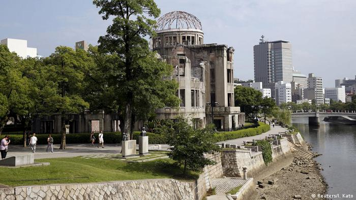 Peace Memorial Park in Hiroshima, Japan (Reuters/I. Kato)