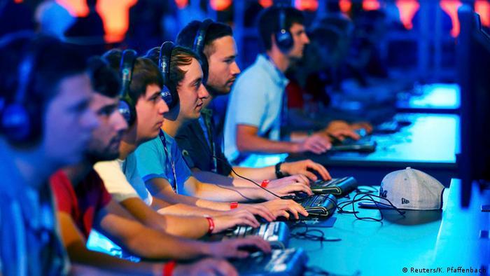 Соревнования по киберспорту в Кельне