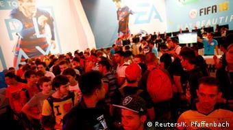 La feria Gamescom se celebra en Colonia hasta el 9 de agosto.