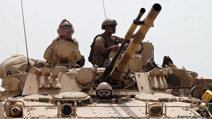 Jemen Saudi-Arabische Truppen (picture-alliance/dpa)
