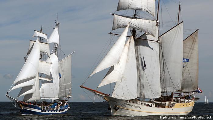 Deutschland Hanse Sail Rostock-Warnemünde 2012