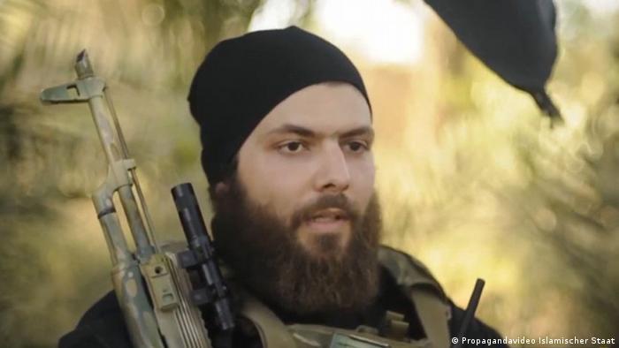 Deutschsprachiges IS-Video Screenshot