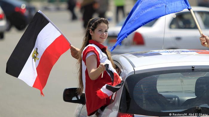 Ägypten Kairo Tahrir Platz Feier Eröffnung 2. Suezkanal