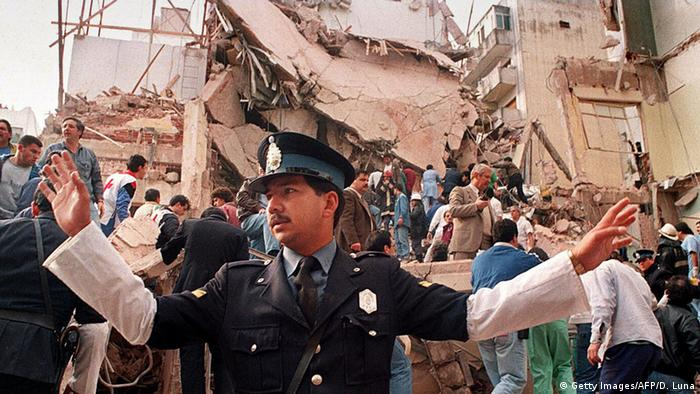 Buenos Aires Bombenanschlag auf das AMIA-Gebäude 1994